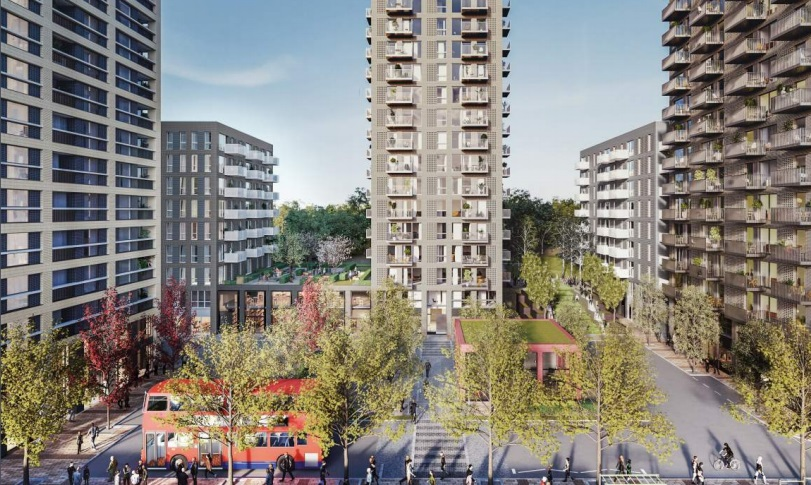New public realm and transport interchange in Kidbrooke – are pedestrians being overlooked?