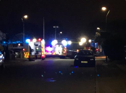 Multiple car crash in Crayford – armed police on scene