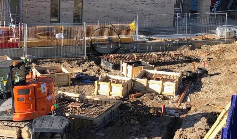 New Kidbrooke station building work underway