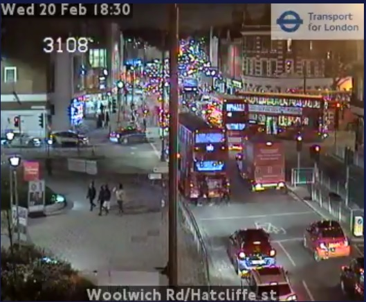 Gridlock across Woolwich and Greenwich tonight