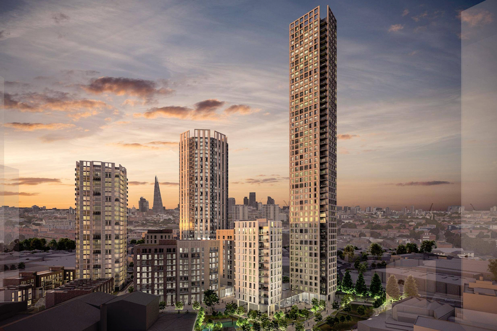 Old Kent Road skyscraper approved as the area sees huge change