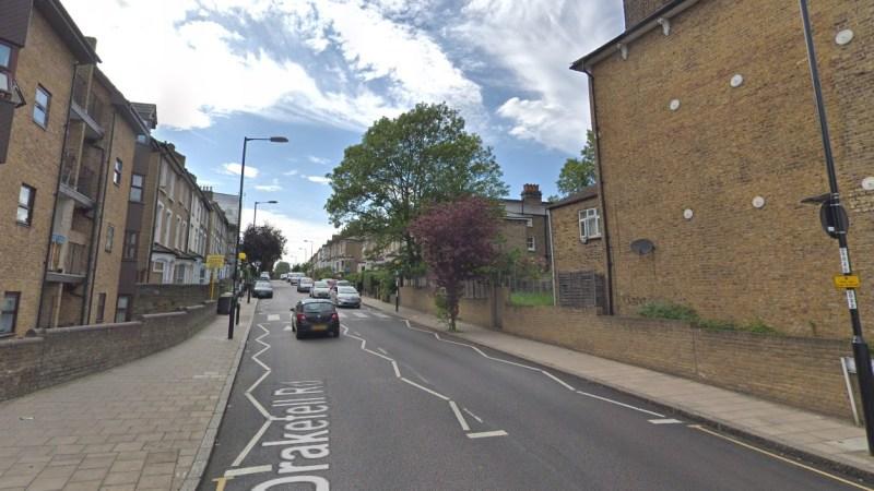 Armed police at Brockley incident