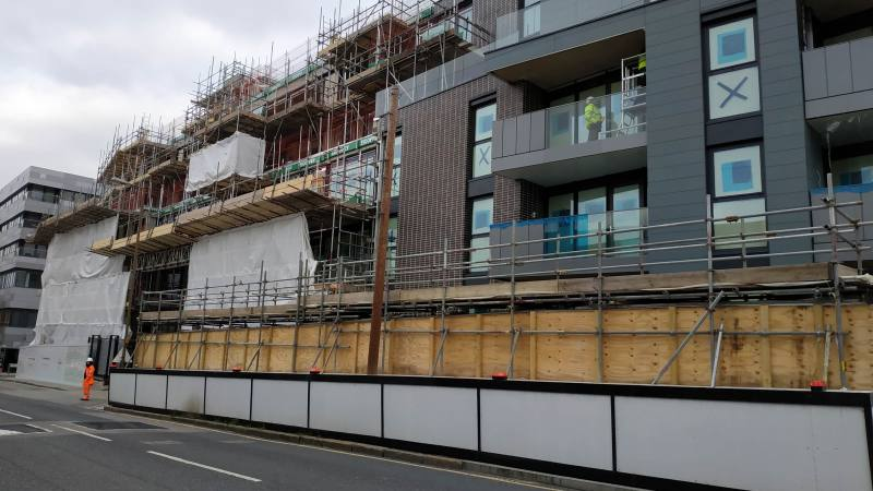 A new look at new flats on old Greenwich hospital site
