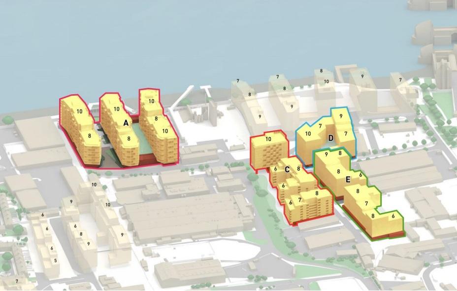 Plans for 1,350 homes near Thames Barrier in Charlton