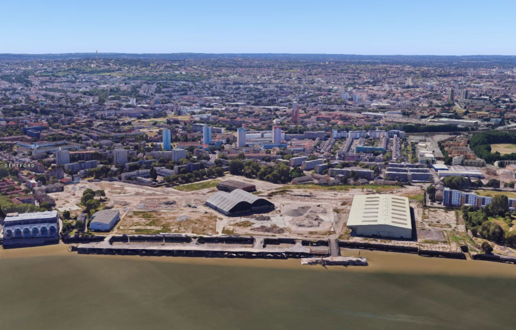 Next plot of 3,500-home Convoys Wharf scheme submitted