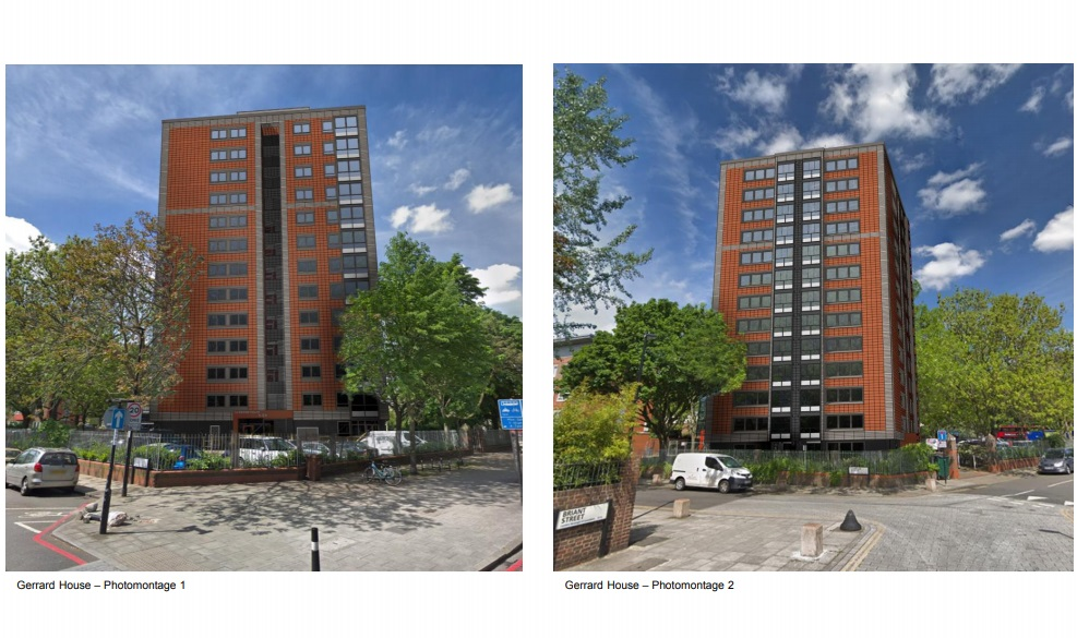 New Cross flats to finally see new exterior after flammable cladding removed in 2017