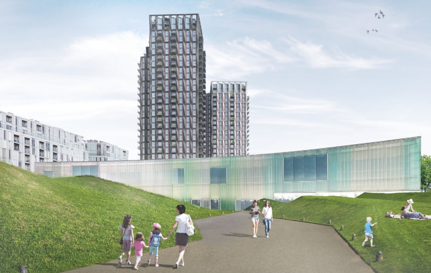 Plans for 30-floor Deptford tower resubmitted