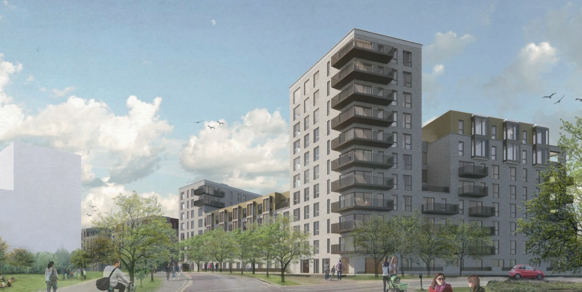 The next 135 homes at Greenwich Millennium Village submitted for approval