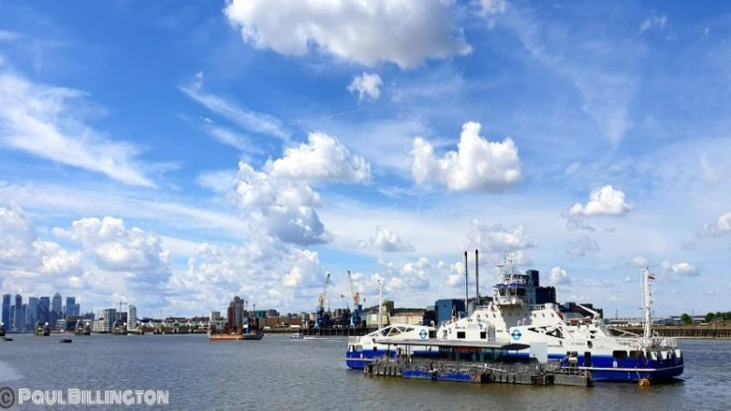 Guest Post Part 1: The Thames Path from Woolwich Pier to Tower Bridge