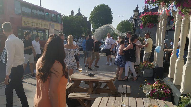 Mass brawl in New Eltham