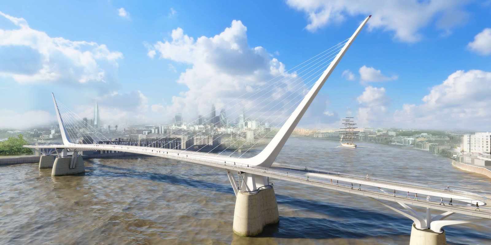 Rotherhithe to Canary Wharf bridge scrapped