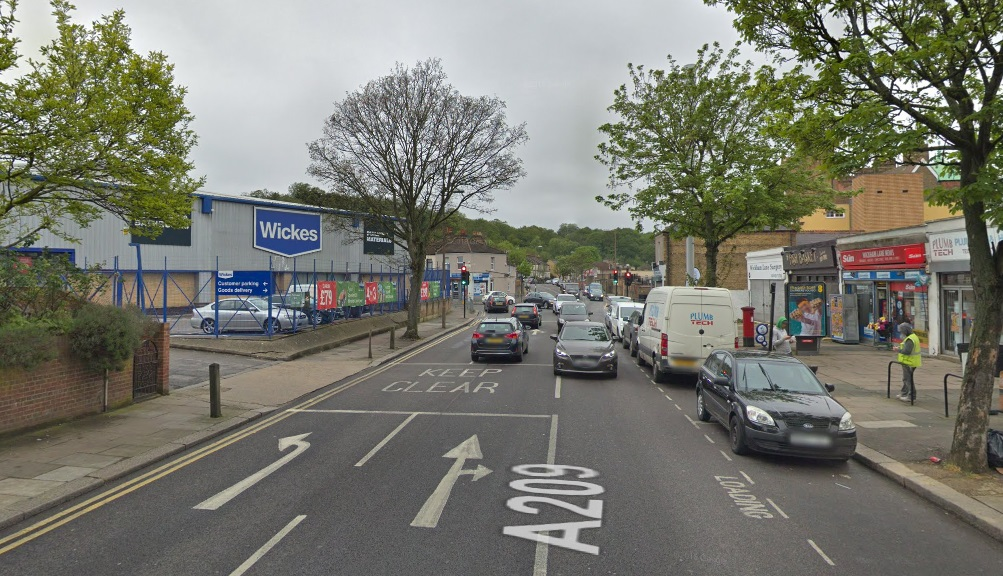 Burst water main and flooding hits Plumstead street