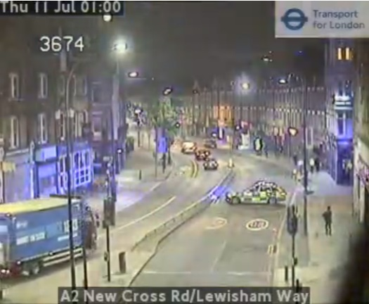 "Serious collision in New Cross ""between motorbike and car"""