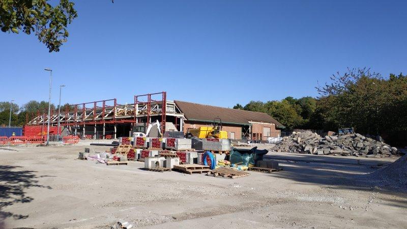 Progress made on Kidbrooke Aldi store