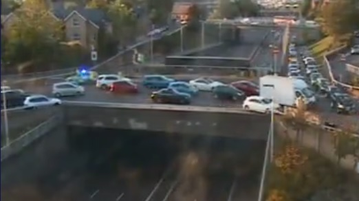 Serious accident closes A2 in Greenwich