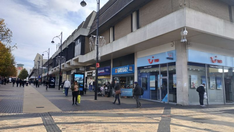 Bexleyheath Broadway shopping centre sees fire