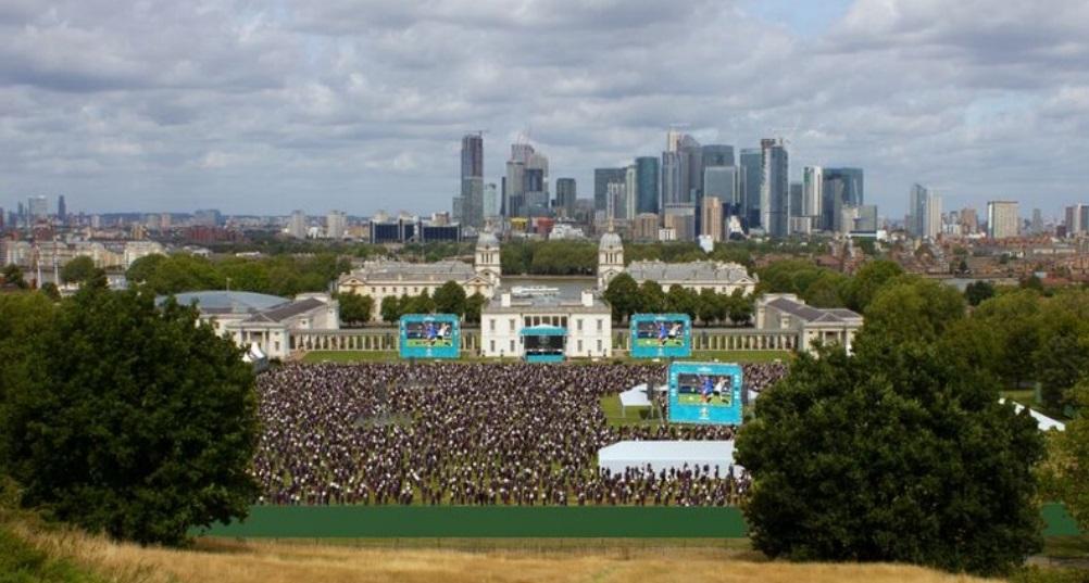 Greenwich Park Euro 2020 Fan Zone: Planners recommend approval