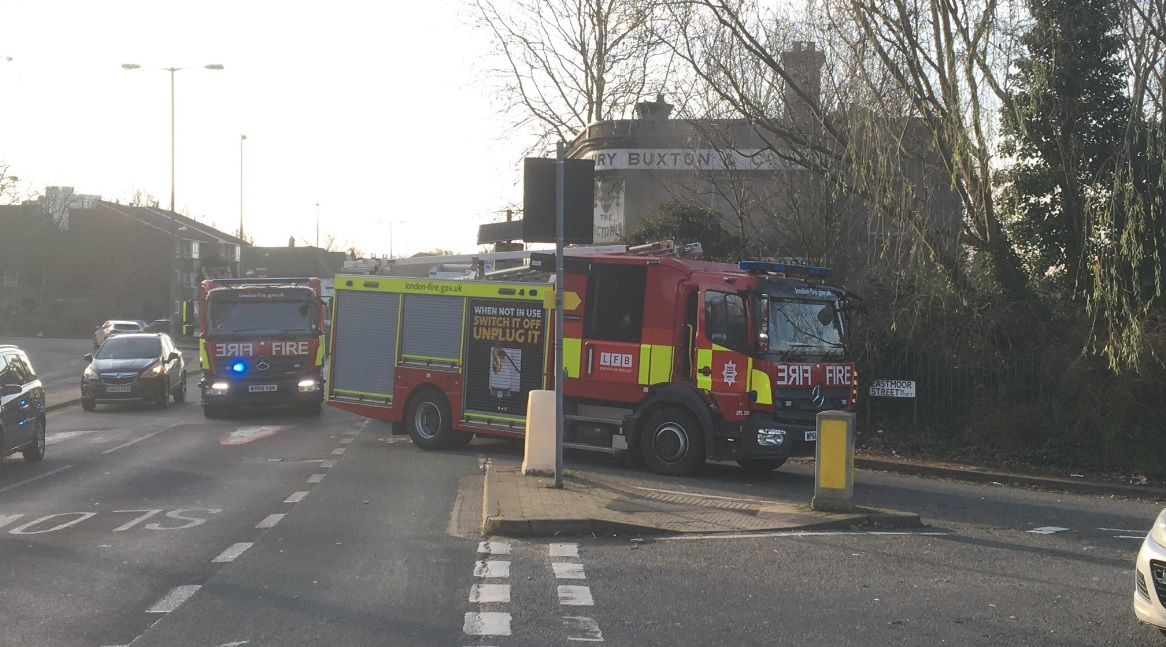 Fire hits Charlton pub for second time in 2019