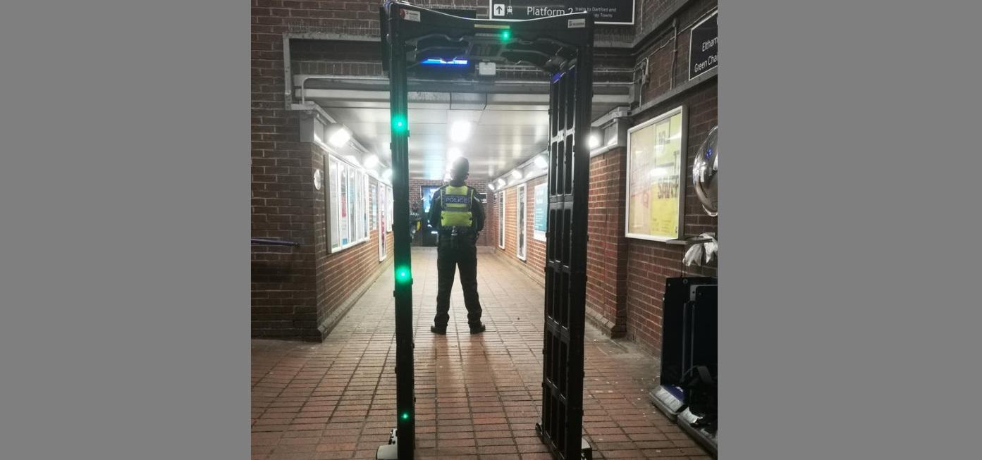 Two arrests after police operation at Eltham station