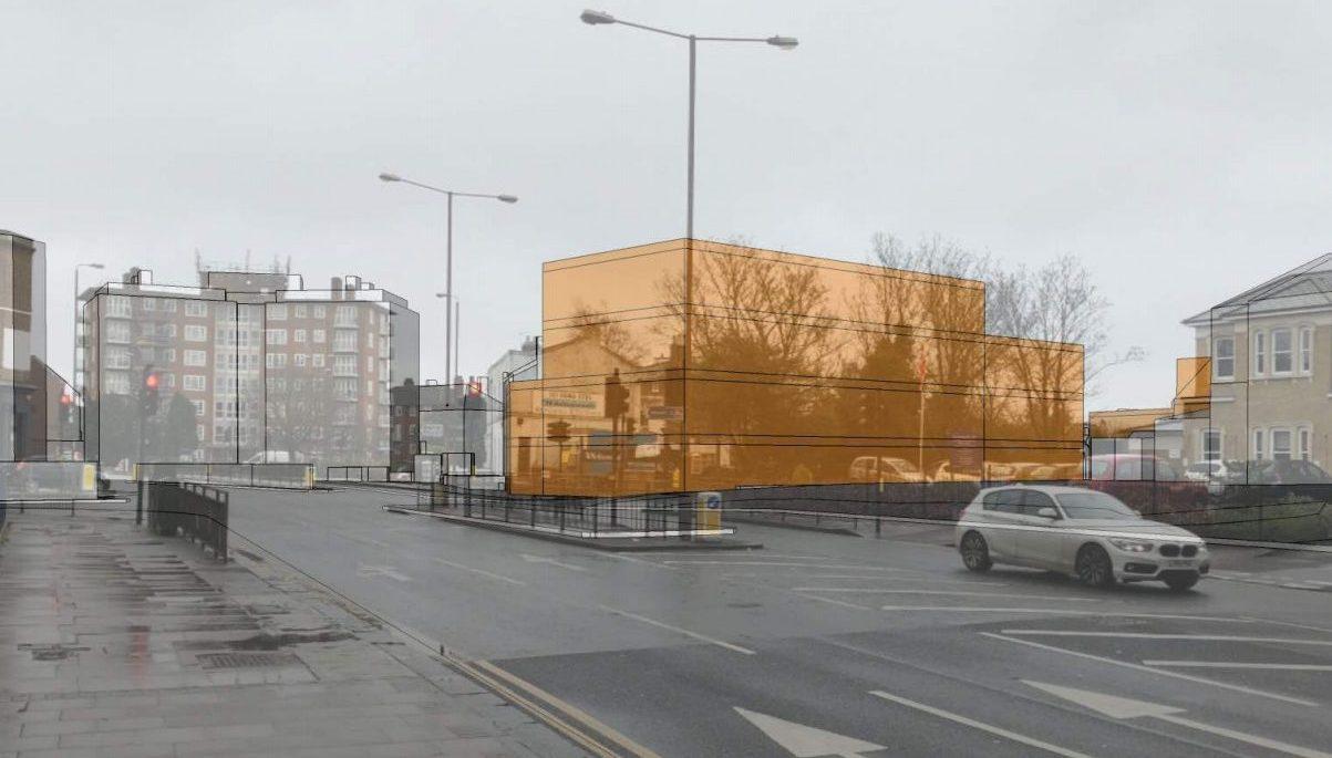 Revised plan for 70 flats near Eltham High Street