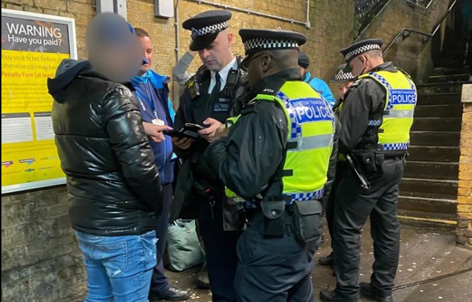 Latest police operation at Southeastern stations sees nine arrests