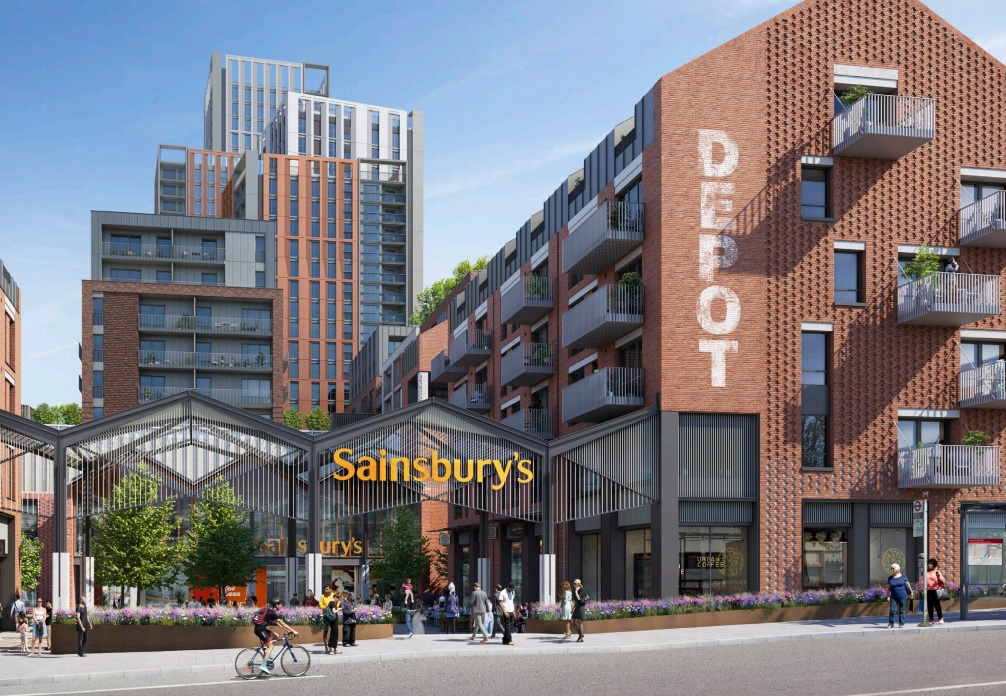 New Cross Sainsbury's tower plan submitted