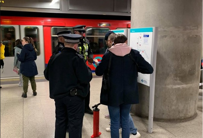 Woolwich Arsenal station: Knife found as three arrests made in latest police operation