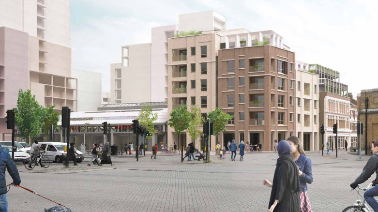 Revised plans for Woolwich covered market, cinema & 750+ homes revealed