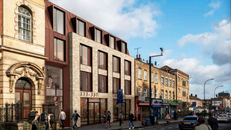 Plan for 63 student rooms at site near New Cross venue club