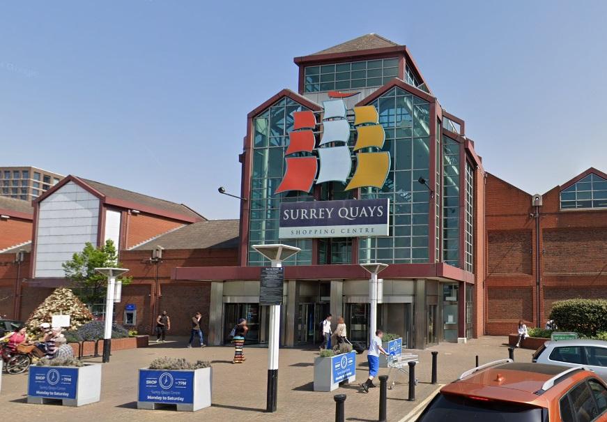 Stabbing at Surrey Quays shopping centre
