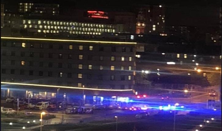 Stabbing in Woolwich Premier Inn – area tapped off