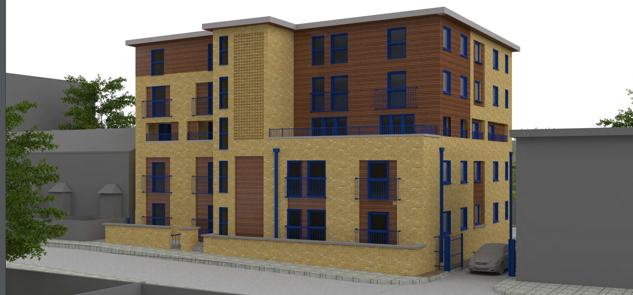 Plans to extend upwards a Charlton block of flats