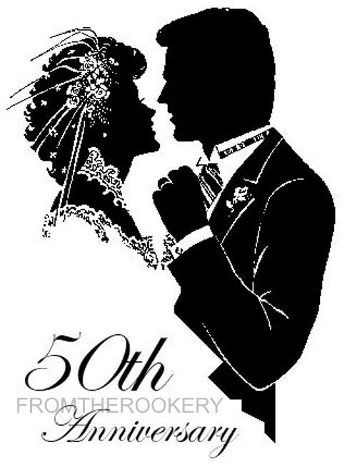 50th Anniversary Invitations Golden Wedding Invites