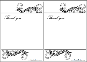 Wedding Thank You Cards Archives Superdazzle Custom Free Printable