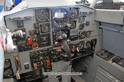 """Cockpit Aermacchi MB-326 """"E"""" I-RVEG"""