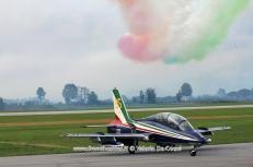 frecce tricolori passaggio fumi 55pan rivolto 2015