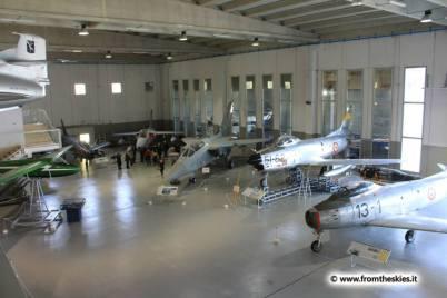 museo storico aeronautica militare - vigna di valle - Hangar Skema