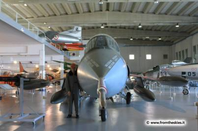 museo storico aeronautica militare - vigna di valle - f-104