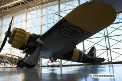 museo storico aeronautica militare - vigna di valle - macchi mc 200 saetta