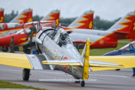 T-6A Texan - Sandro Pagliarin - 55PAN Rivolto 2015