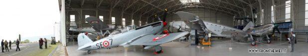 Museo Storico Aeronautica Militare - Hangar Badoni Panoramica aperto 2015