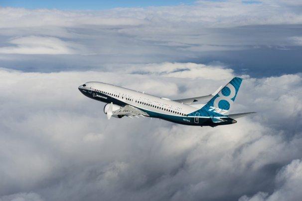 787MAX First Flight
