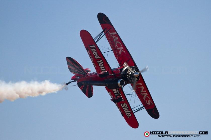 Capital Air Show 2015 - Screamin' Sasquatch Jet Waco