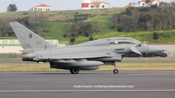 Eurofighter Aeronautica Militare MM55095 - Lajes AB