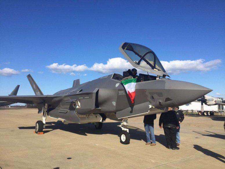 F-35 Aeronautica Militare MM7332- Pax River