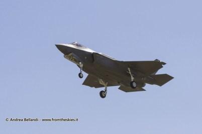 F-35 a Ghedi - Maggio 2016