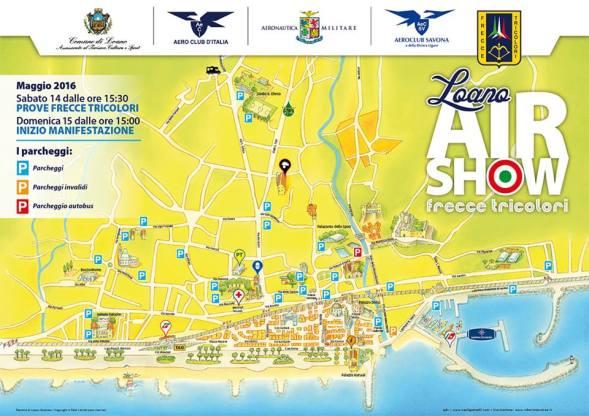 Loano Air Show 2016 - Parcheggi