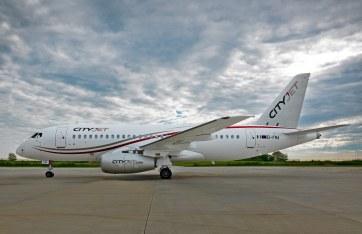 Sukhoi Superjet 100 CityJet