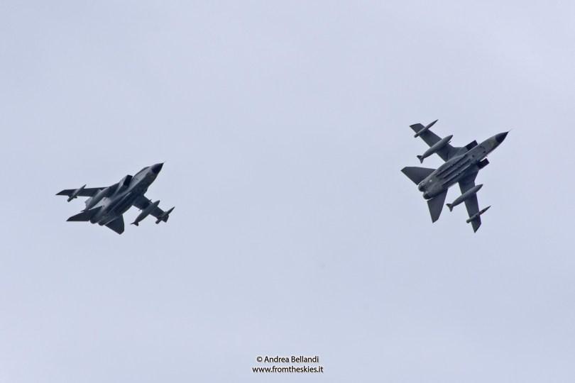 Tornado 6° Stormo - Aeronautica Militare - Rientro dal Kuwait 2016 (2)
