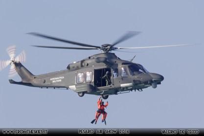HH139A Aeronautica Militare - Pesaro Air Show 2016